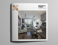 Nicholas Street Apartments Sales Material