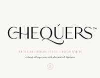 Chequers - Modern Sans Serif