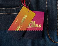 Jeans Tag Mockup