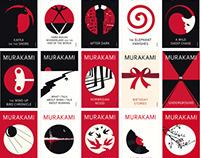 HARUKI MURAKAMI BOOK COVER / NOMA BAR