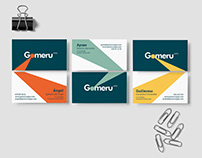 Gomeru apps. Corporate identity