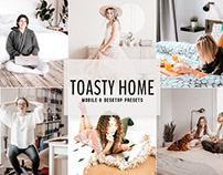 Free Toasty Home Mobile & Desktop Lightroom Presets