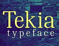 Tekia Typeface