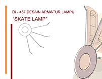 """Lamp Design """" Skate Lamp """""""