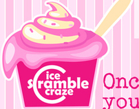 Ice Scramble Craze Branding