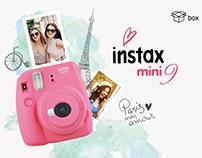 Серия упаковок для Instax mini 9