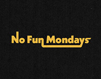 No Fun Mondays Logo