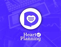 Heart of Planning App Logo Design