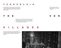 A Night Walk in Tenderloin // Book Design
