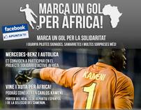 ¡Marca un gol por África!