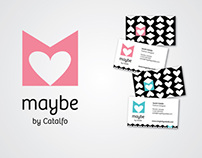 Maybe by Catalfo Identity design