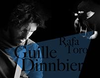 Carteles de conciertos Guille Dinnbier