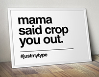 #justmytype
