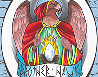 Brother Hawk Flyer for Back Booth, 2014