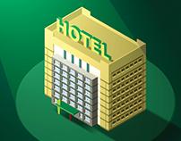 CBRE Hotels Advertisement