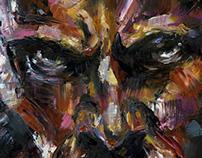Painting: Superhero series