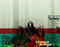 #OccupyGezi #DirenGeziParki