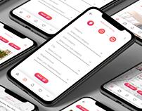 UI Design for Real Estate Mobile App