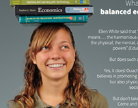 Poster: Balanced Education — College Days, 2012