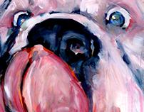 PAINTING: Canine series
