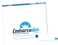 Diseño web, print, Marca global: embarcados.net