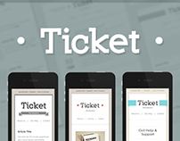 Ticket- Email Template