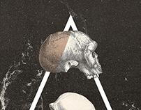 """Book cover """"Apócrifa. Libro Negro"""" by Rafael Villegas."""