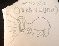 Youkai of Japan YAKANZURU(ヤカンズル)