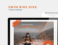 Triathlon Challenge Web Design