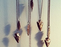 Arrowhead Necklaces