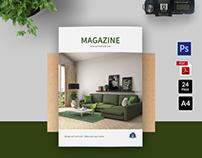 Interior Design Brochure / Magazine Template