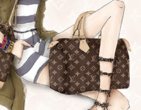 LOUIS VUITTON X ILLUSTRATORS COLLAB.