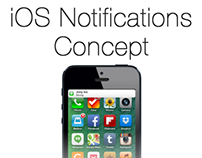 iOS Notifications Concept