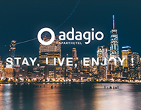 ADAGIO- Website - Redesign concept