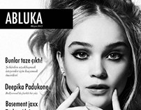 Abluka | Editorial Design