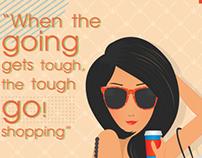Shopping girl (Poster)