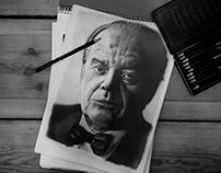Jack Nicholson - Drawing