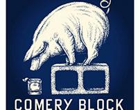 Comery Block Logomark Illustrated by Steven Noble
