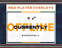 NBA Player Overlays