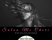 Mi Cheri Salon Fb ad