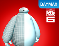 Baymax - Figure 3D