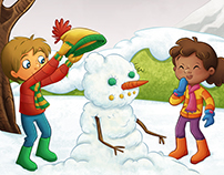 Snowball Fight (Children's Book)