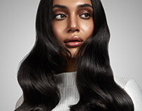 Glossy Hair - Ad shoot