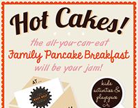 Valentine Pancake Poster