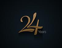 24 years anniversary