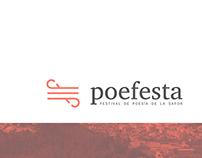 Poefesta, festival de poesía de la Safor | Branding