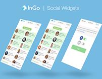 InGo | Social Widgets