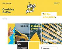 Branding • OnePriceCoffee