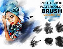 Amazing Free Photoshop Watercolor Brush