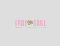 LADY·COKE. Tribute to decadent celebrities